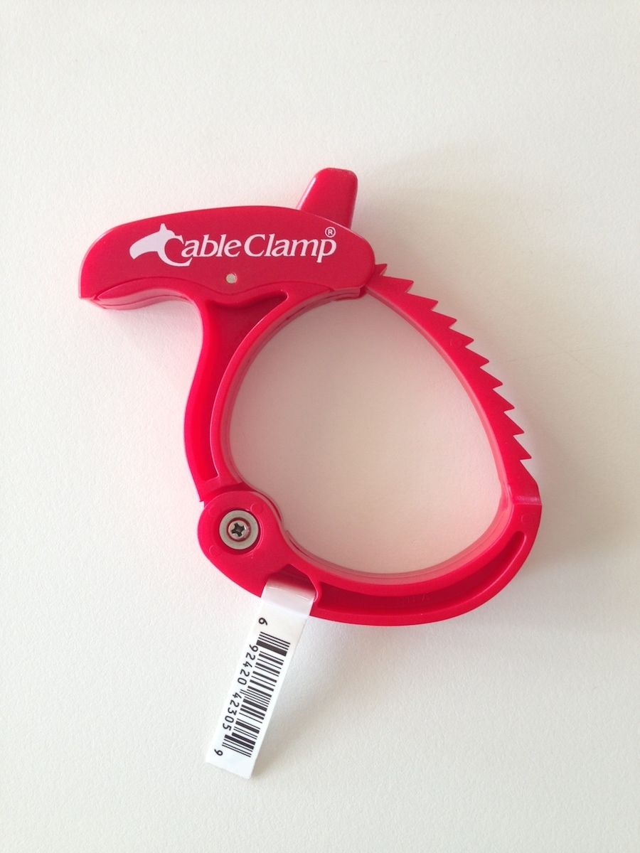 Cable clamp for snake bag