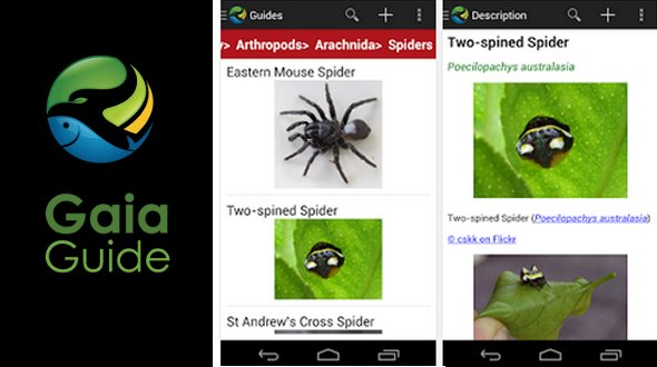 Gaia Guide. iPhone/iPad/android app