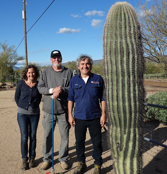 Animal Ark visiting Viper Voidance / Jim Walkington, Senoran Desert, Arizona. Photo: Animal Ark