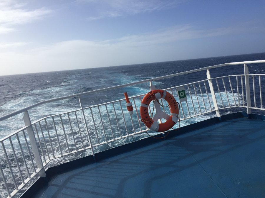 Crossing the Southern Ocean calm - Drakes Passage. Photo: Animal Ark