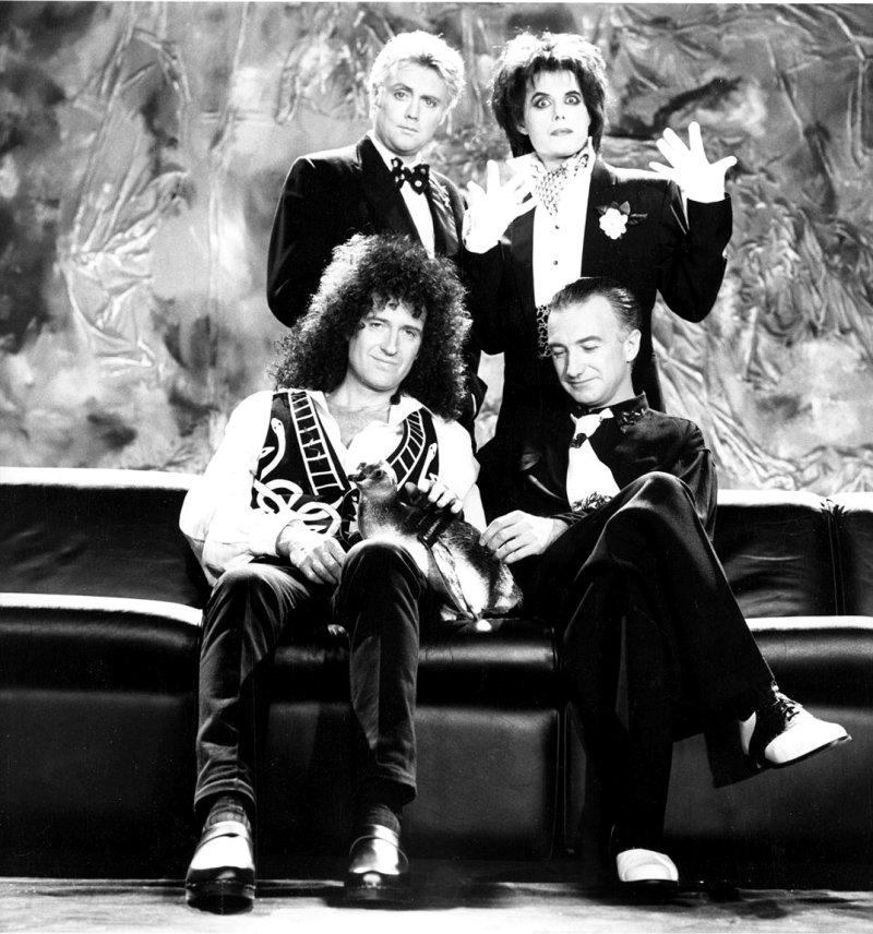 Freddie Mercury, Queen and penguin handled by Animal Ark