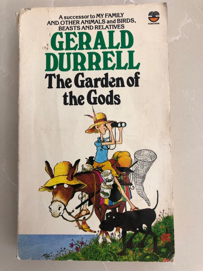 Gerald Durrell, The Garden of the Gods book