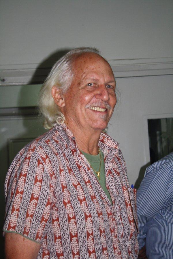 Mr Romulus Whitaker. Photo: Dr Raju Kasambe, Wikimedia Commons