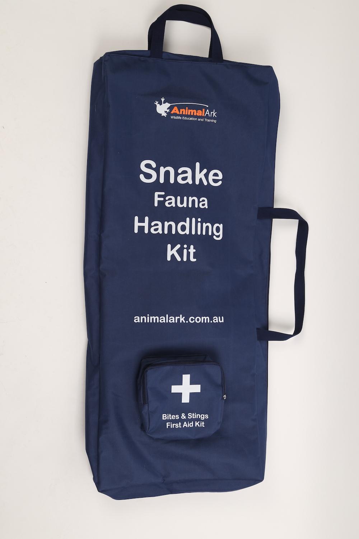 Snake and fauna handling kit bag.